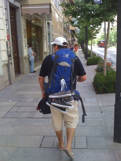 Backpacking through Spain